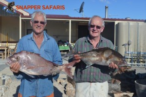 A pair of happy campers, great catch!