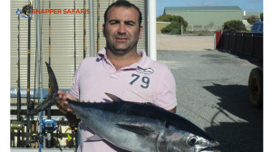 Franko with a lovely Bluefin