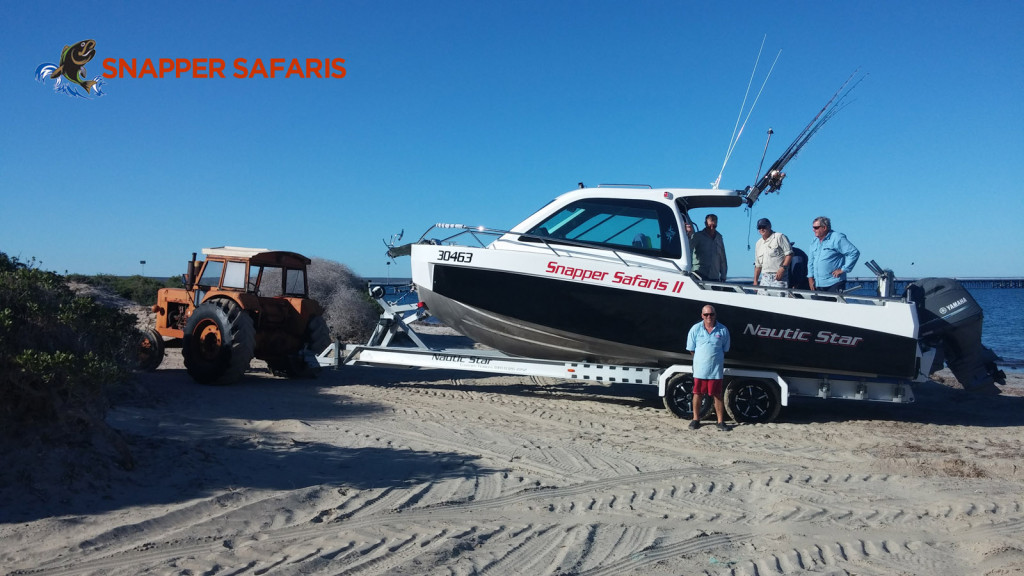 Beach Launch at Fowlers Bay Thanks to Boat Catch